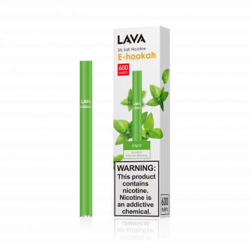 Disposable E-Shisha Pen, Mint Flavor by Lava2